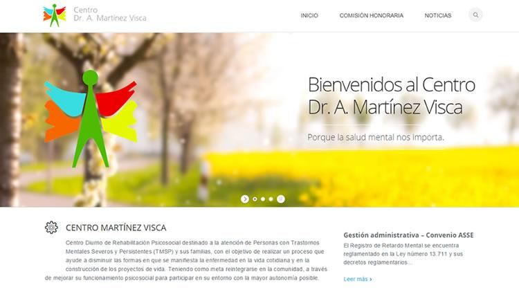 El «Centro Nacional de Rehabilitación Psíquica – Dr. A. Martínez Visca» actualiza su Página web